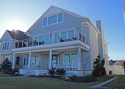 NJ Oceanfront Custom Home